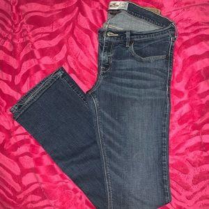 Hollister Jeans.